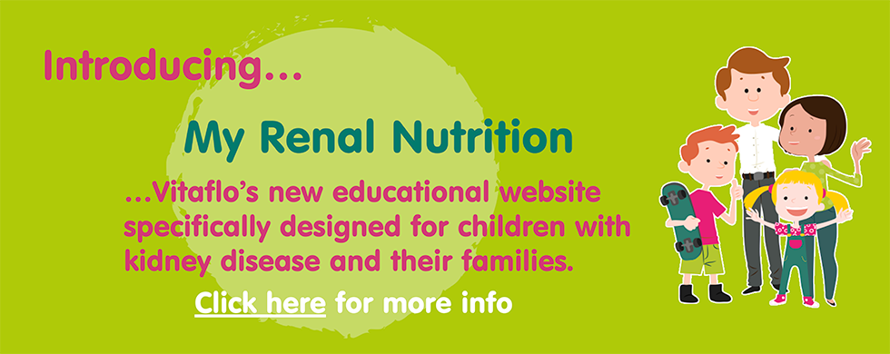 My Renal Nutrition Web Banner
